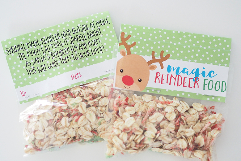 Magic Reindeer Food treat bags