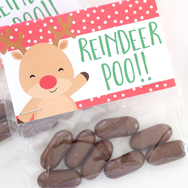 Christmas treat bags are an easy and inexpensive gift to give. I have had some fun recently making up some new Christmas Bag Toppers, Reindeer Noses, Merry Christmas, Magic Reindeer Food and more.
