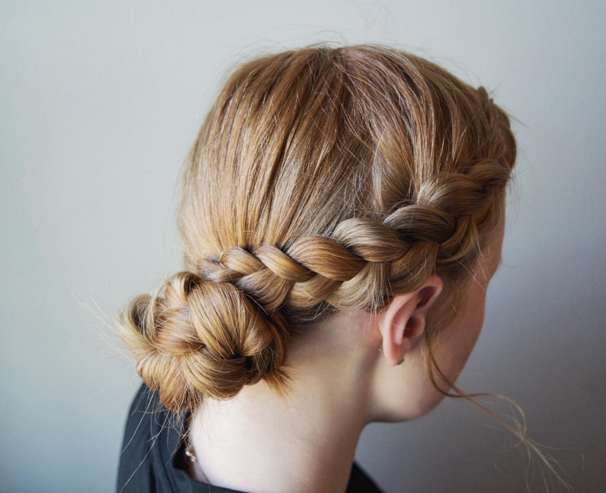 12+ Pretty & Easy School Hairstyles for Girls - The ...