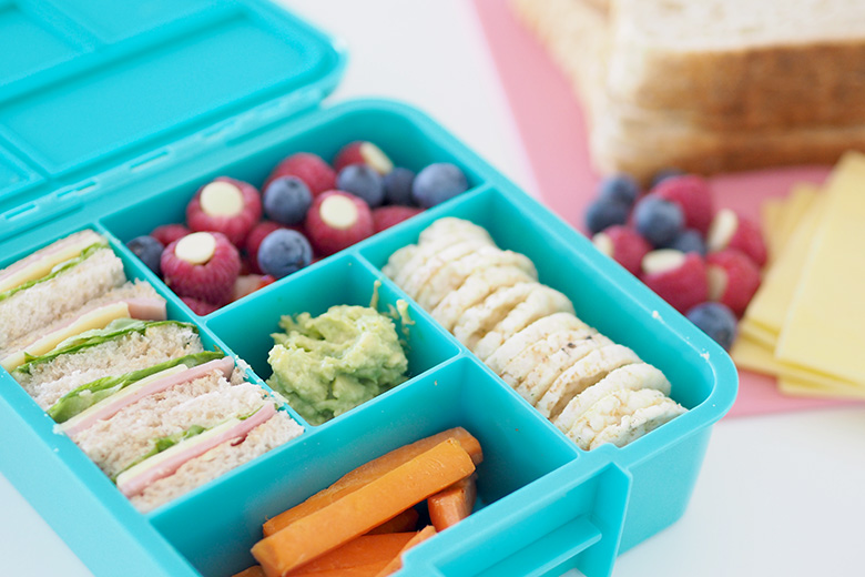 how to pack a healthy school lunchbox each day