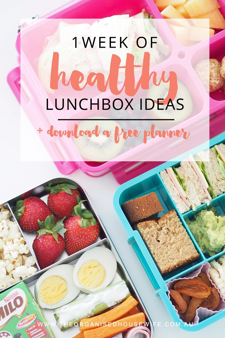 Struggling to create a variety of healthy lunchboxes each day? Here are my top tips for packing a healthy lunchbox for kids and one week of lunchbox ideas, with a printable to help you plan a week of healthy lunchboxes for your kids.