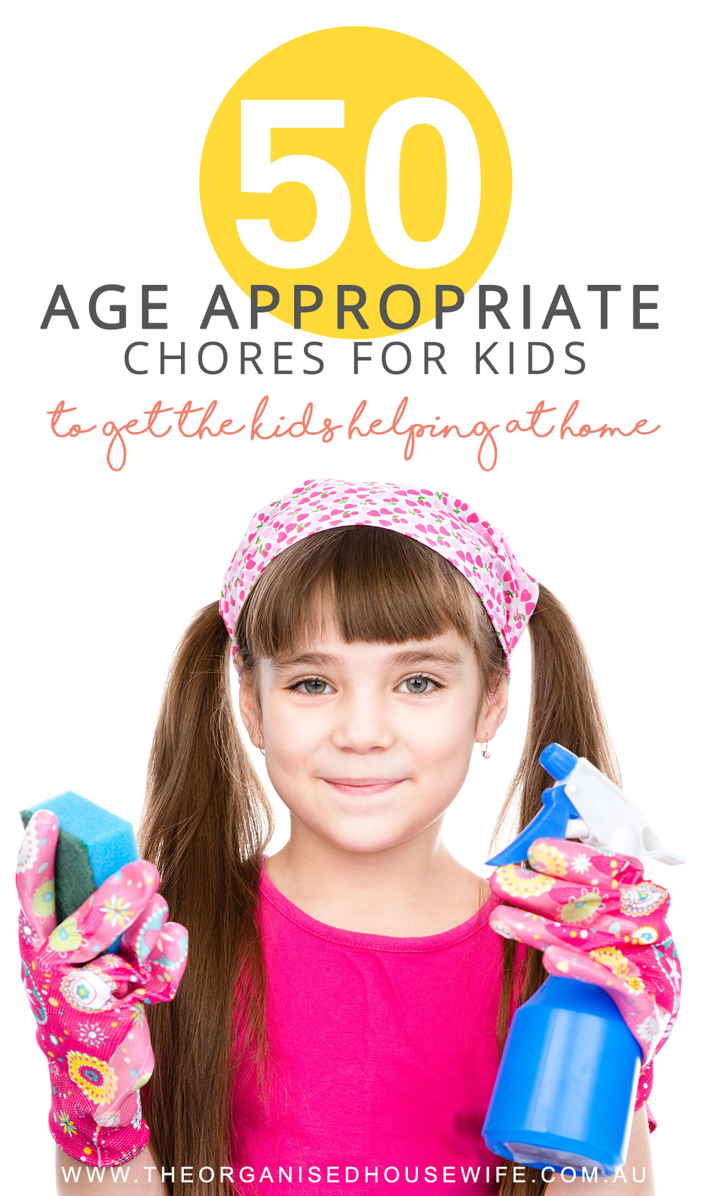 age appropriate chores for kids.