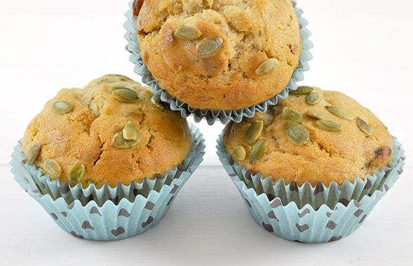 BANANA AND DATE MUFFINS - I have made quite a few variations of banana muffins over the years, with weetbix or chocolate chips, but have to say this recipe is rather healthy and I would prefer it than the choc chip variety.