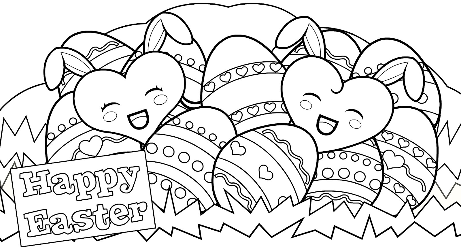 15 Easter Colouring In Pages - The Organised Housewife