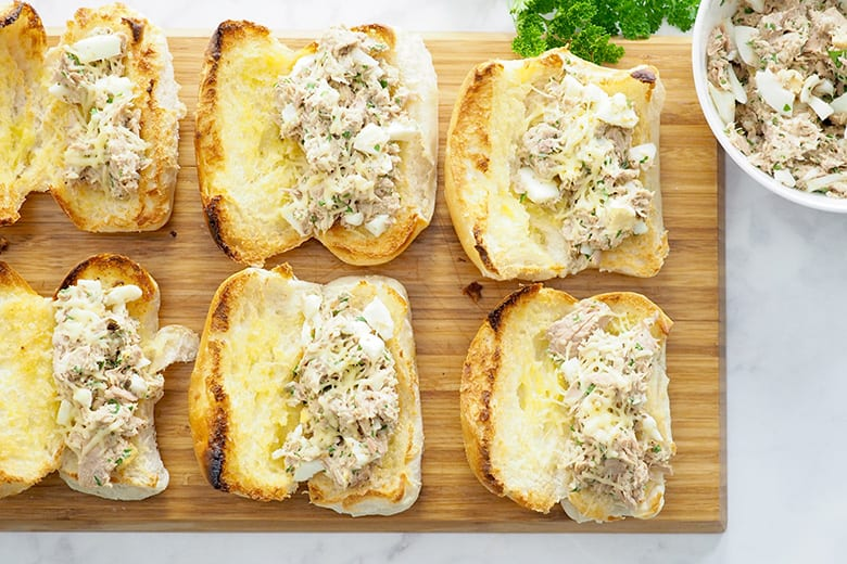 Tuna melt meal make in under 30 minutes