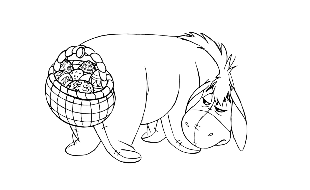15 easter colouring in pages the organised housewife