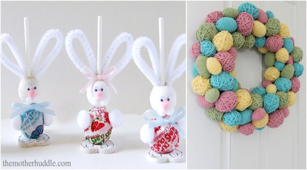 12 fun easter craft ideas the organised housewife easter is a fun time because there are so many cute crafts you can make and negle Images