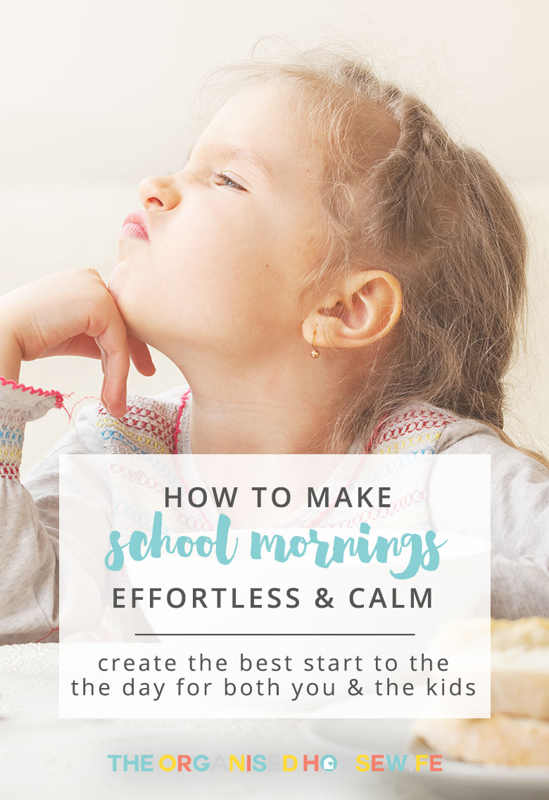 Here are some of my favourite responses from when I asked the community what their best tips are for getting the kids organised in the morning. These will help create an effortless and calm start to the day and will make school mornings easier.