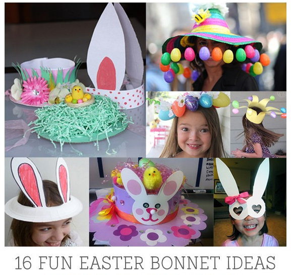 This year is flying by, I can't believe it's Easter already! If your kids' primary school is anything like ours was, you'll have an annual Easter Hat Parade scribbled into your planner. Here are a few of my Easter Bonnet Idea finds for 2017 to inspire you and ensure that you're not rushing around last minute.