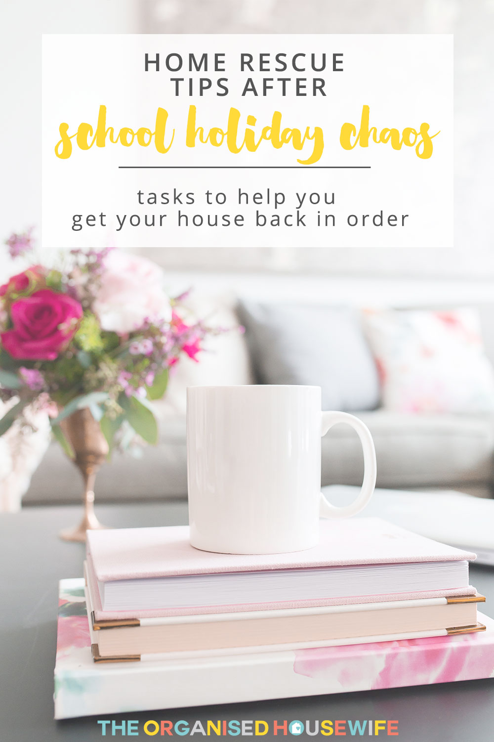 Trying to keep the house clean and tidy during school holiday can seem a little redundant, as soon as you tidy something up you turn your back and it's a mess again. Here are my tips to restoring your house after school holidays come to an end.