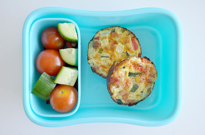 I really love my cheese and bacon mini quiche recipe, often making some and freezing for kids school lunch box. This frittata bites recipe would have to be one of my next favourites. I sometimes make these up for lunch over the weekend using up any vegetables or meat that are lingering in the fridge.