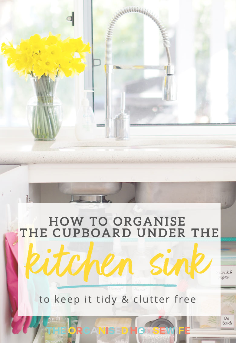 Under sink storage ideas. Kitchen sink.