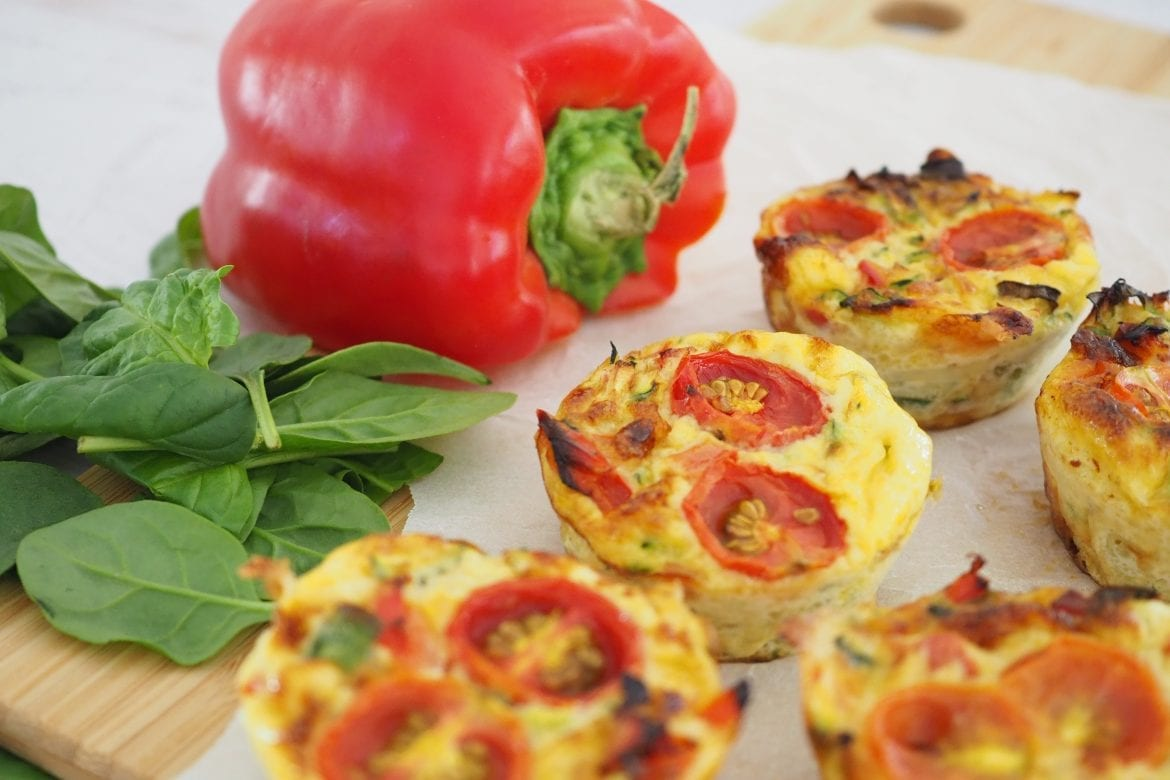 frittata bites recipe easy lunch ideas