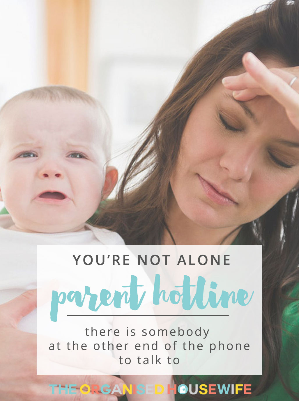 Being a parent is really fun, rewarding, amazing, life changing and exhilarating. But it is also REALLY, REALLY hard work. Parentline is a confidential hotline that offers support, information and counselling for parents of any stage.