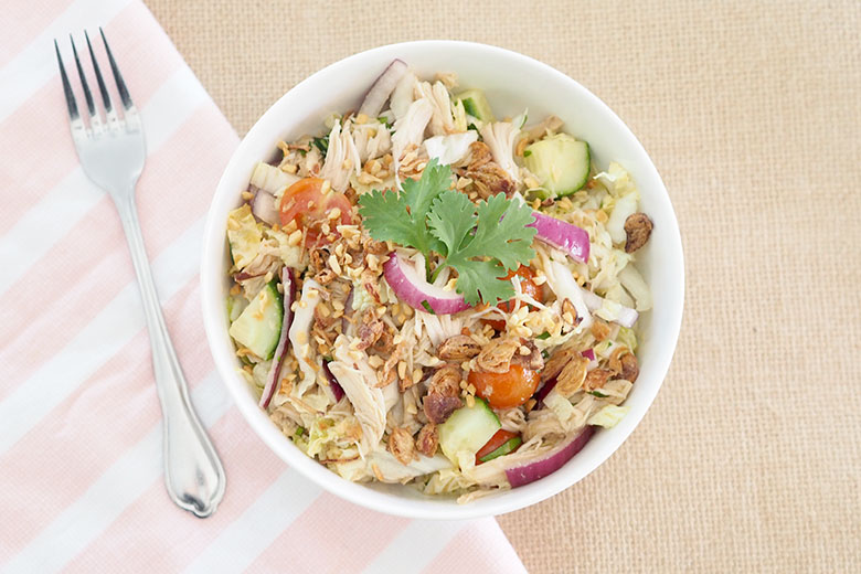 Slow cooker Asian chicken salad recipe
