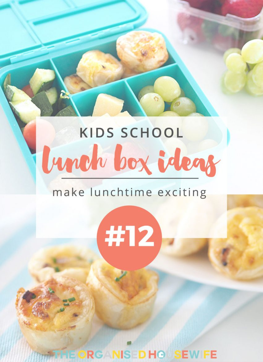 So many kids are sent to school with the same lunch everyday and this doesn't have to be the case. Giving your kids variety throughout the week encourages them to eat all their food at school and makes lunchtime exciting. Find some inspiration with Kids Lunch Box Ideas #12.