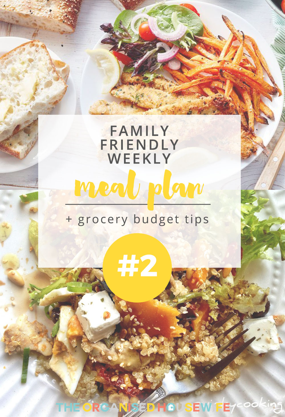 Being creative with meals 7 nights a week is a huge task. Some might say it's almost impossible! I hope this weekly meal plan inspires you this week with your dinners!