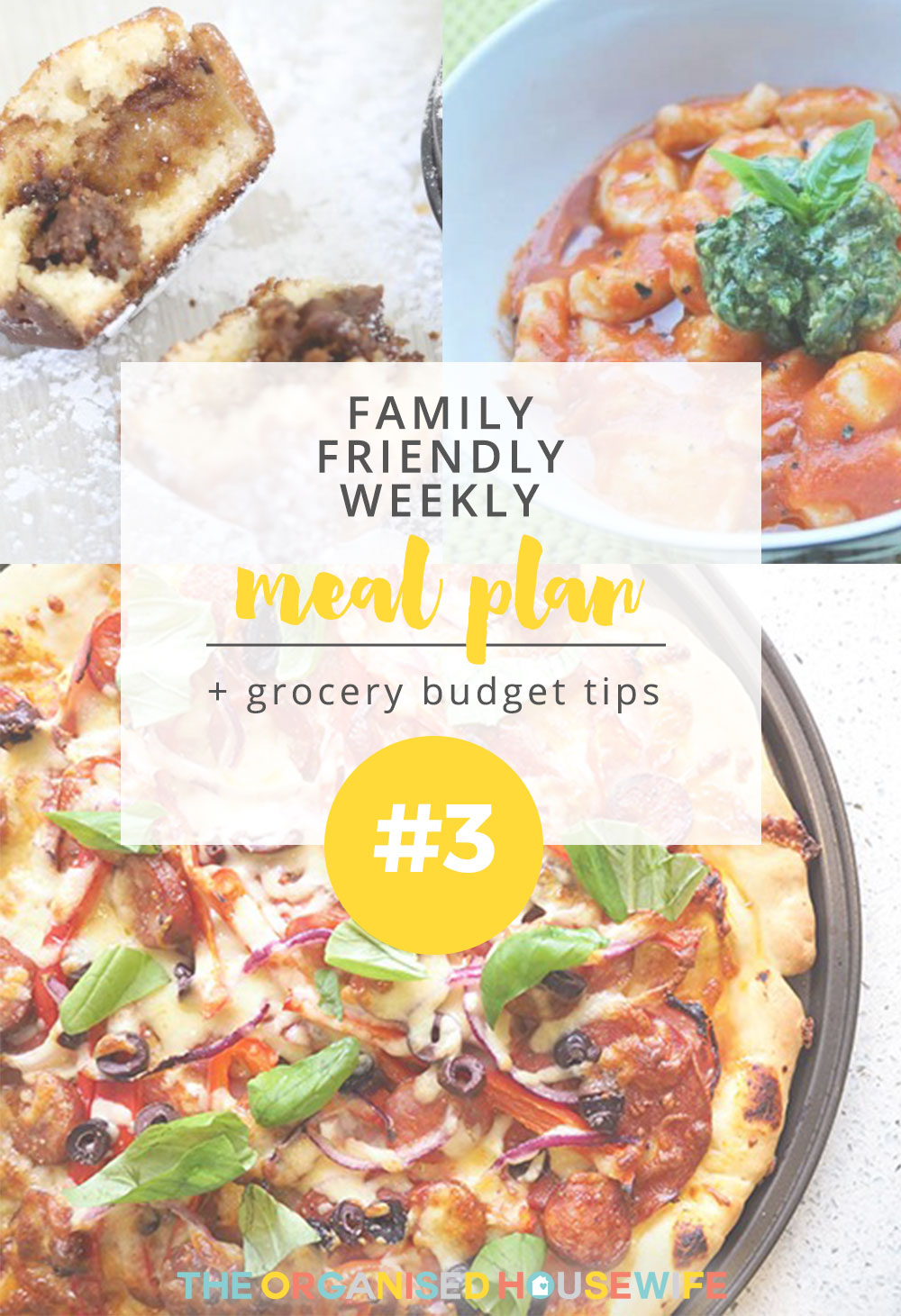 Not only does having a weekly meal plan avoid stress in the afternoon and night, but you can plan your grocery shop accordingly. I hope this week is full of happiness, joy and, of course, delicious meals for you. Happy cooking!