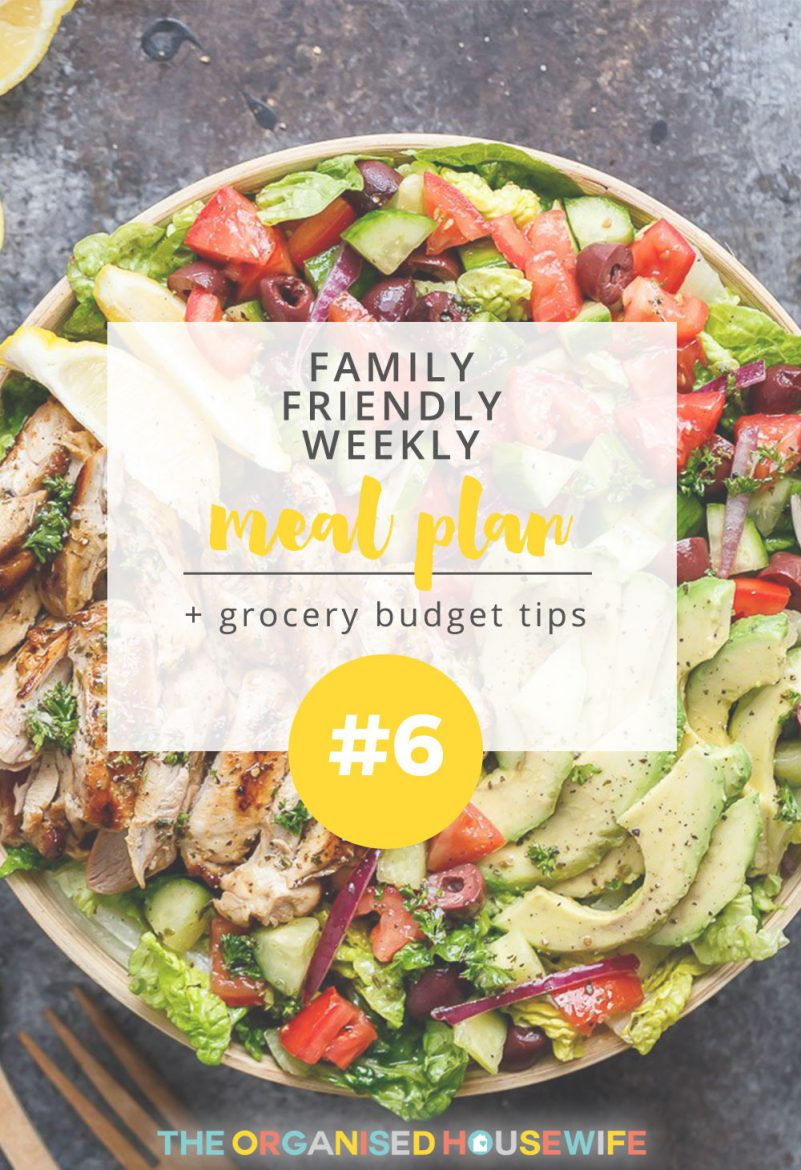 Some people believe meal planning is a massive effort but it's such a simple task that saves you so much more effort during the week. If you don't weekly meal plan already, you should give it a go and see what you think!