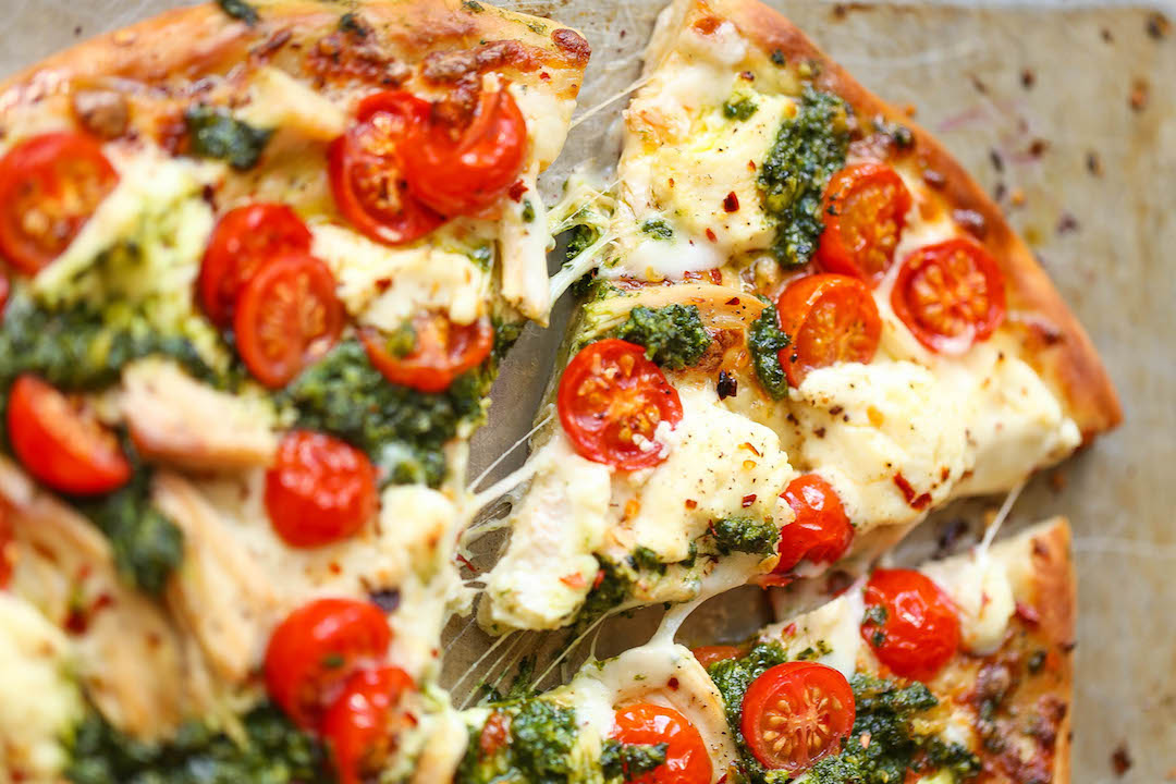 Nothing beats homemade pizzas and they can be suited to everyone's tastes and needs. My kids love putting on their own toppings and it's a fun way to get the kids in the kitchen. Forget about ordering take-away and instead be inspired by some of these awesome pizza topping ideas and recipes!