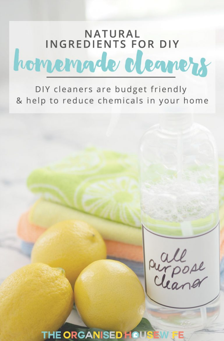 I have been making my own homemade cleaners for a few years now and absolutely love them. They also save me lots of money.