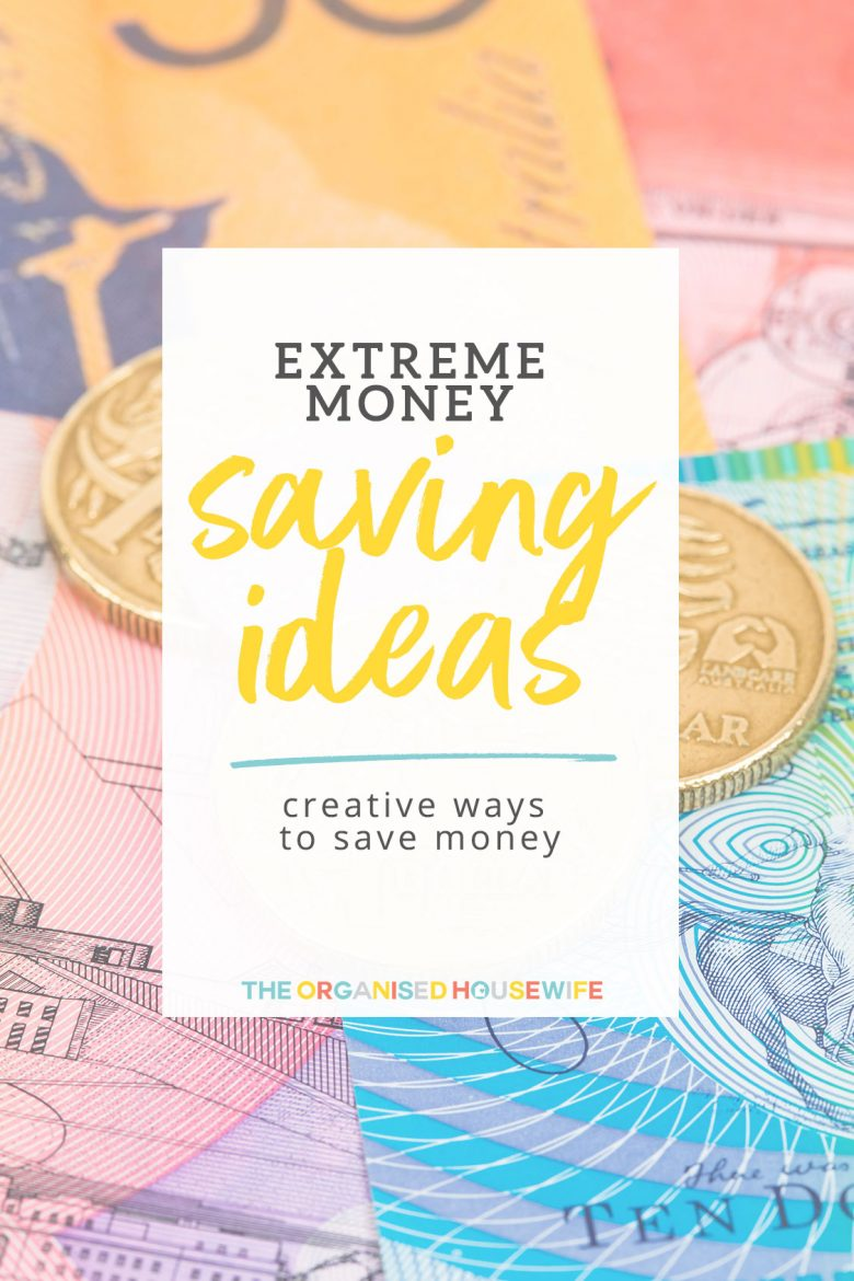 There were so many creative and extreme ways to save money, even if it's just a couple of cents it all add's up in the end.
