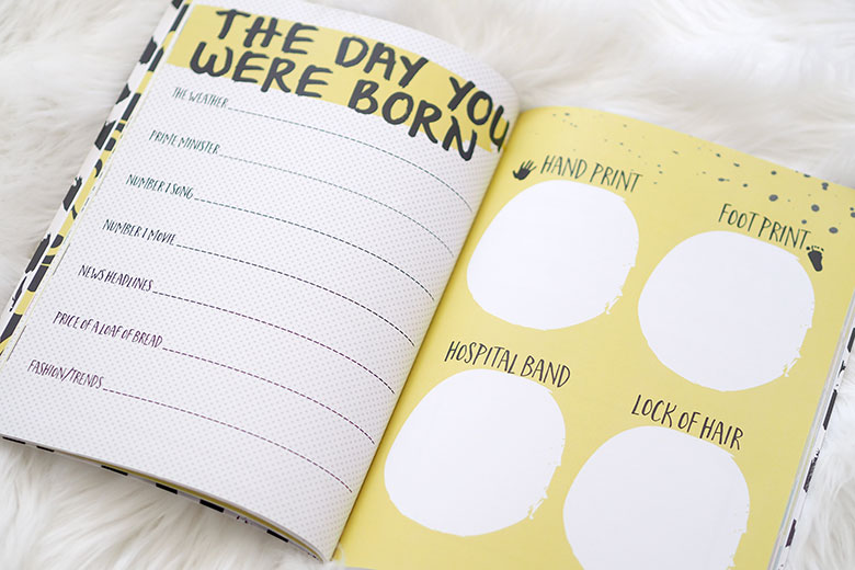 From bump to birth to first day of school, Along Came a Baby - Moments, Milestones and Memories book is a really sweet way to record the joyful journey.