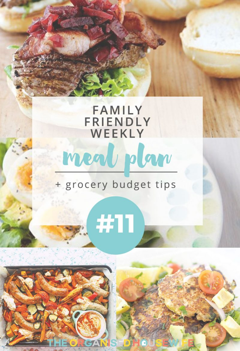 It's getting cooler here in Australia which means I like to make more winter-style meals and dishes. I enjoy mixing up my dishes during the week so that I'm not making a similar meal two or three nights in a row. I've shared a reader's weekly meal plan.