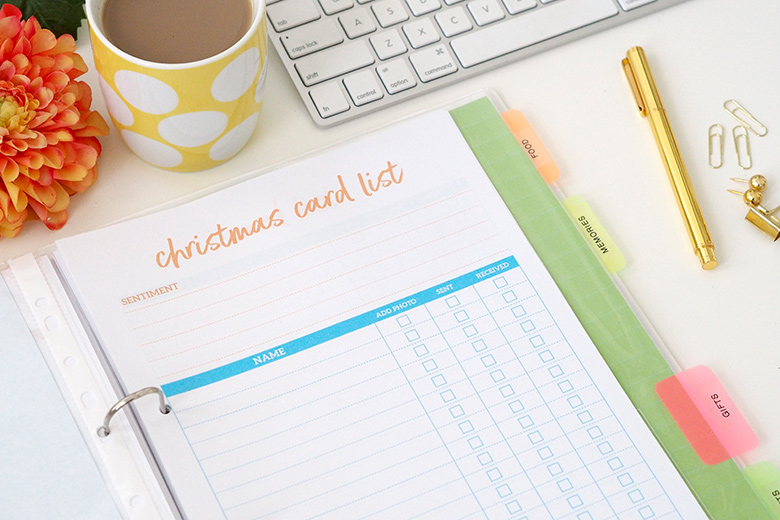 My Christmas Planner is my sanity saver and it could help you prepare for the special time of year when Santa Claus comes to town! Use the planner to keep all your checklists, planners, budgets, recipes, ideas and more together in the one place.