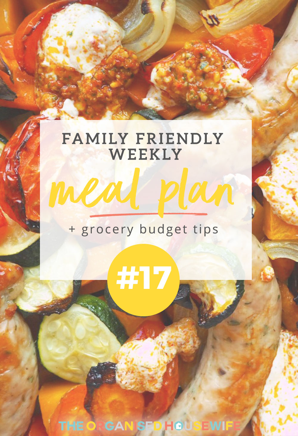For busy mum of 3, Erin says without Meal Planning she would be lost. See some of Erin's family favourites here that fit into the family schedule.