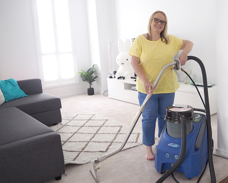 The bigger and not very fun cleaning tasks tend to get neglected. Check out my easy steps to give them a clean to refresh and make them sparkle again.