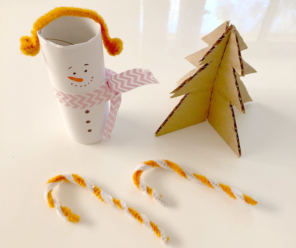 If you're no Mary Poppins or Pinterest-Perfect Mum then this is for you! Mim has created three easy and quick Christmas Crafts for mums who do not have the time (or inclination) to craft. They're quick to make, with only a few things needed, and your kids will love them!