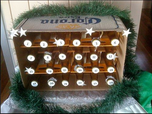 Countdown to Christmas using a creative homemade Advent Calendar filled with little gifts or activities, I found plenty of ideas to inspire you!