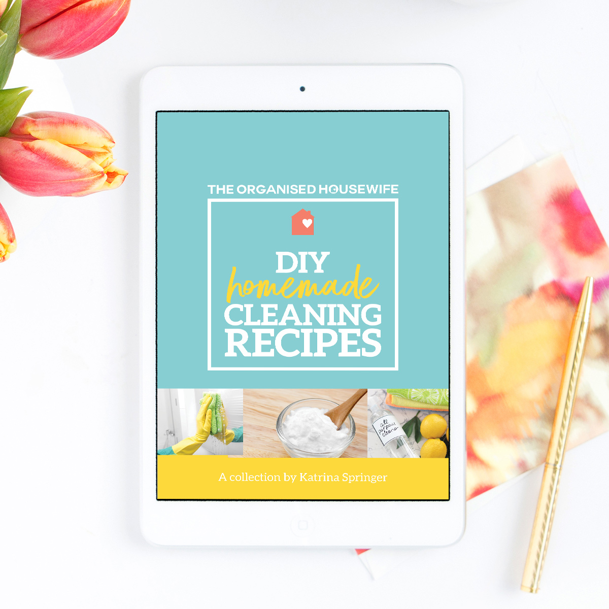 DIY Homemade Cleaning Recipes eBook