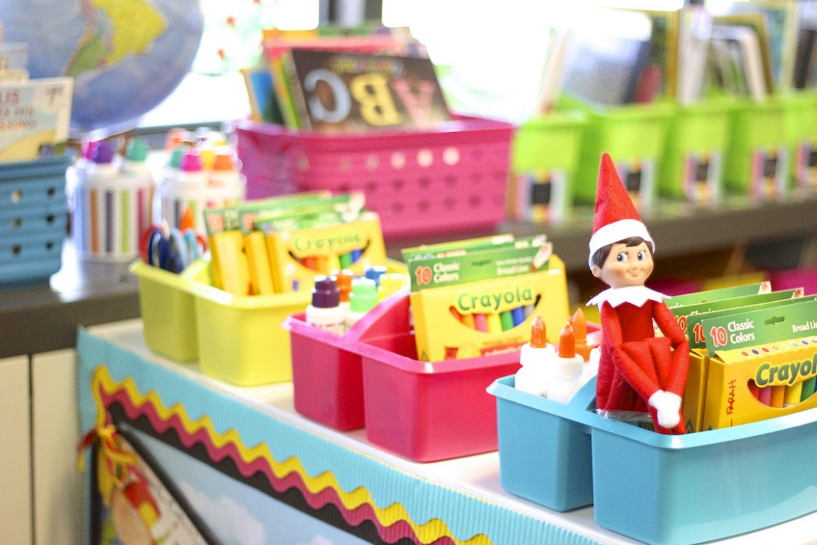 Classroom Elf Ideas ~ Gifts for teachers that they will appreciate the