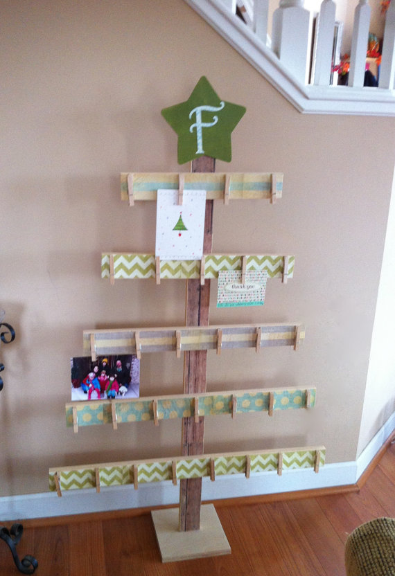 18 Christmas Card Display Ideas The Organised Housewife