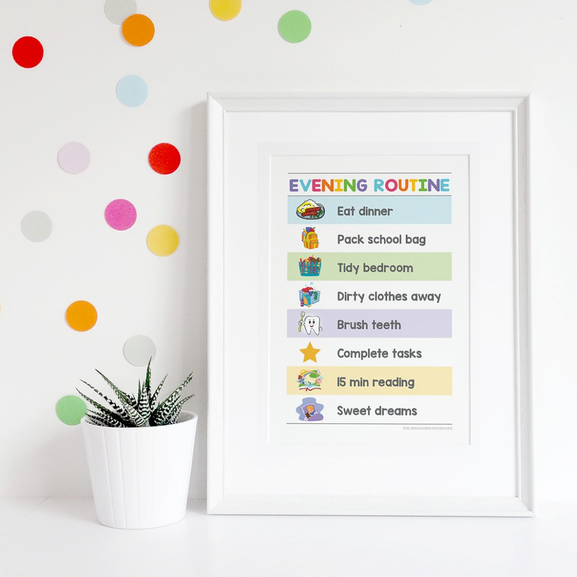 My routine charts will help your child to independently get ready for school, stop you repeating yourself and remind them of tasks that need to be completed before they can play or turn on the TV, creating a chaos-free day before and after school.