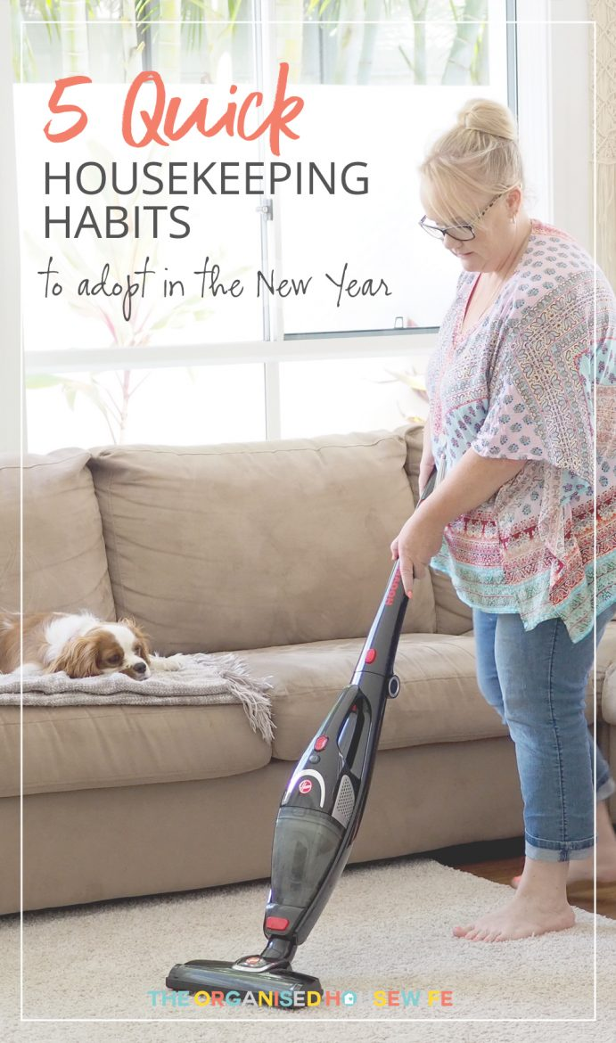 I am a big fan of routine and hands down would say this is how I got out of my rut all those years ago when I had newborn twins. I struggled to keep my home tidy which then messed with my mindset so I created a routine of tasks that were achievable and focused on helping me feel better about my home. These are 5 of my Morning Housekeeping Habits that haven't changed nearly 15 years later.