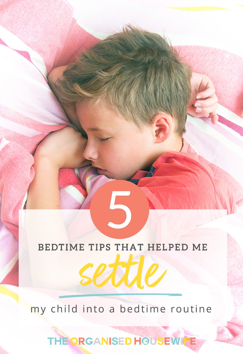The most important part of my child's day is a good night sleep. If he hasn't had a good night sleep, he is usually tired, grumpy and sluggish the next day. So here I share 5 tips that have helped us set an Evening routine that has helped him settle each night for a peaceful sleep. Waking up refreshed and ready for a new day!
