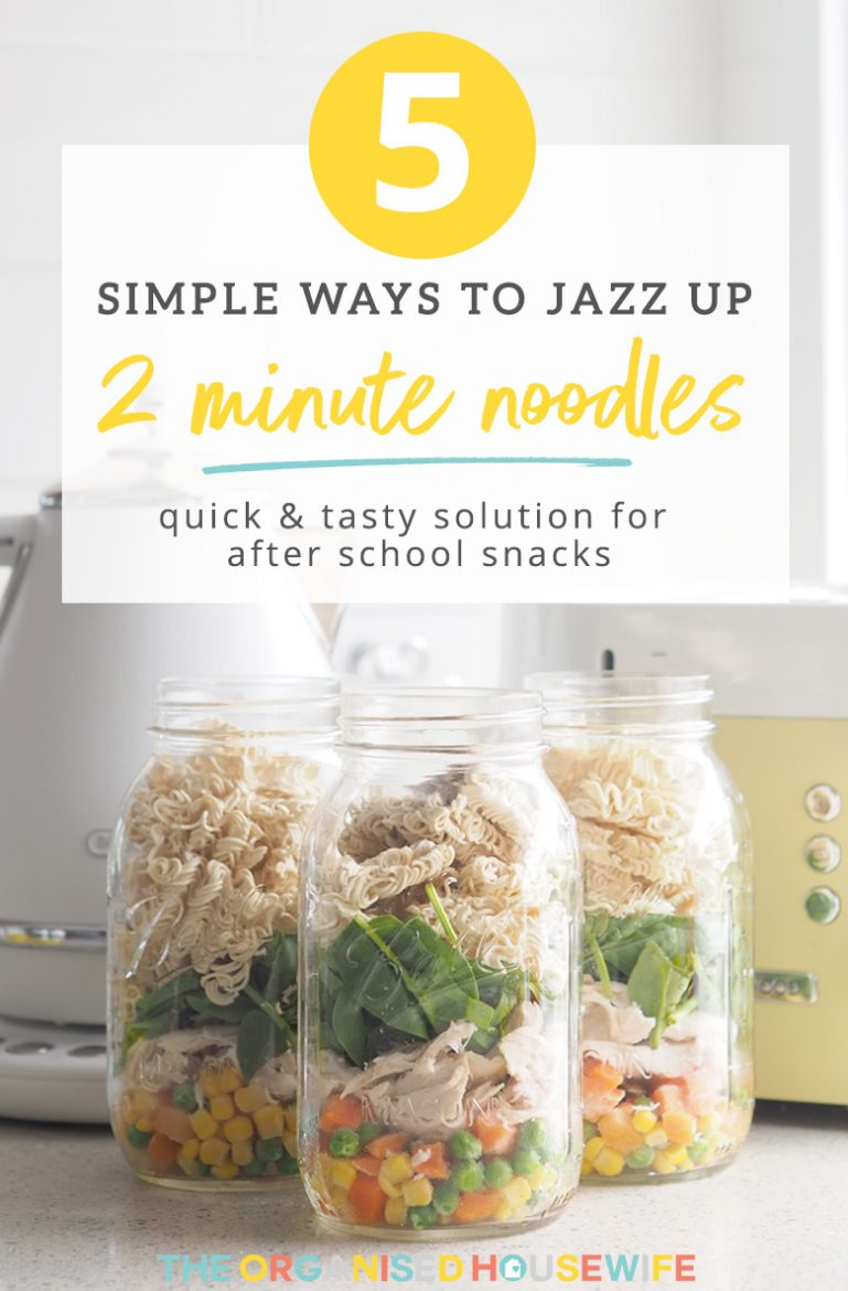 5 clever and quick ways to jazz up MAGGI 2 minute noodles, easy for the kids to make and is a tasty solution for an after school snack. Plus enter to win a $150 Woolworths Gift Card, which would be so handy to fill the fridge with food!