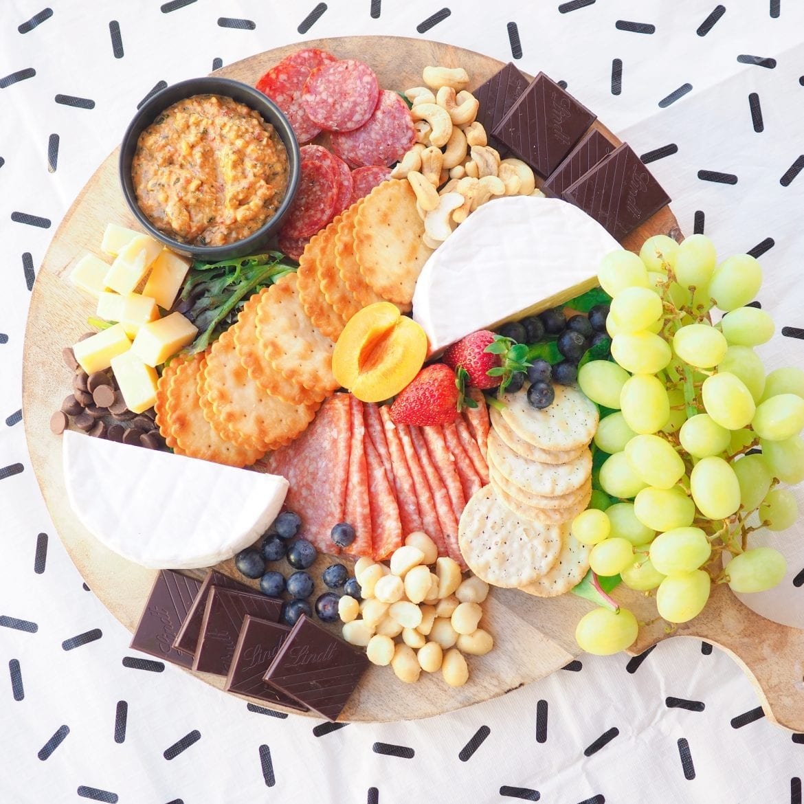 I love creating a masterpiece platter for my family and friends and this cheese and meat platter sure was 'legendairy'