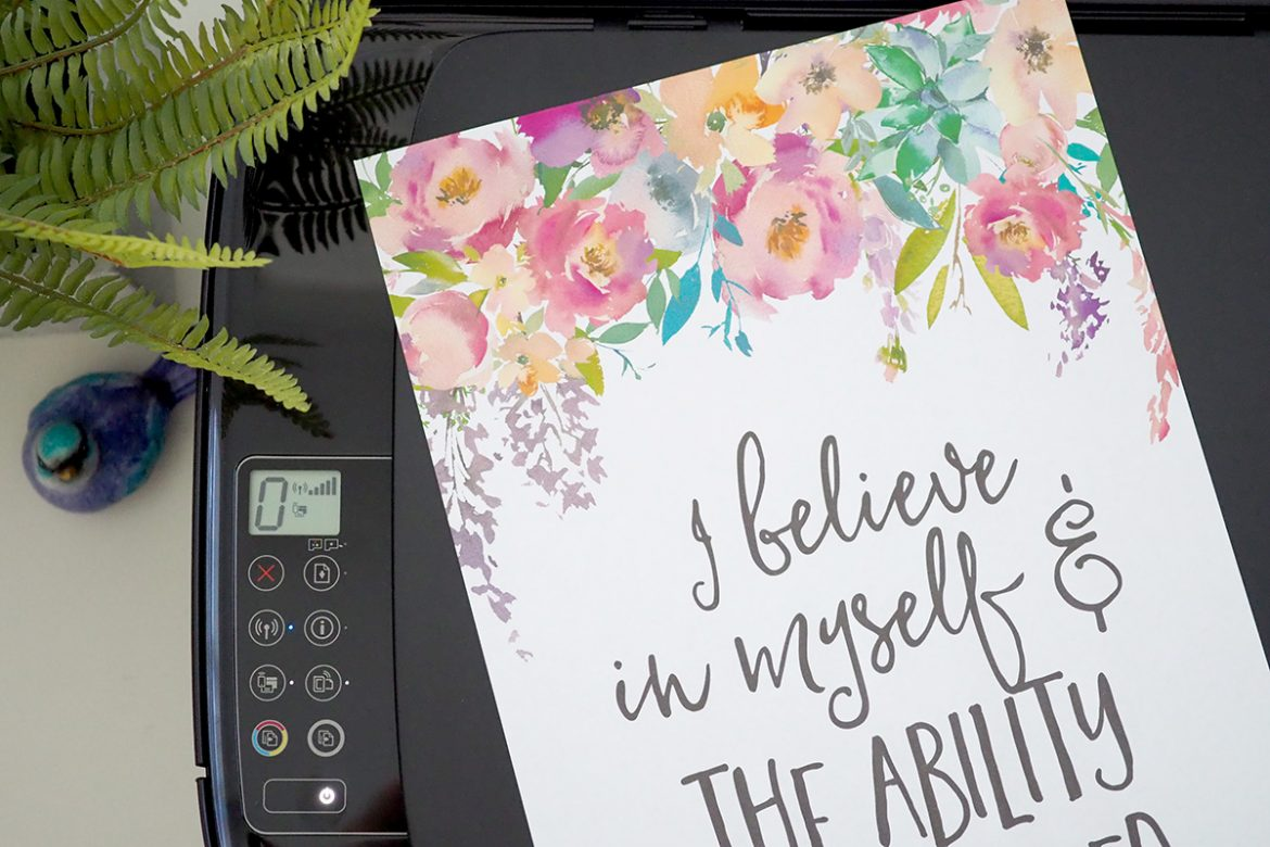 'Ask, Believe, Receive'. Use a vision board to train your mind to think positively and attract those goals on your vision board and bring them to life.