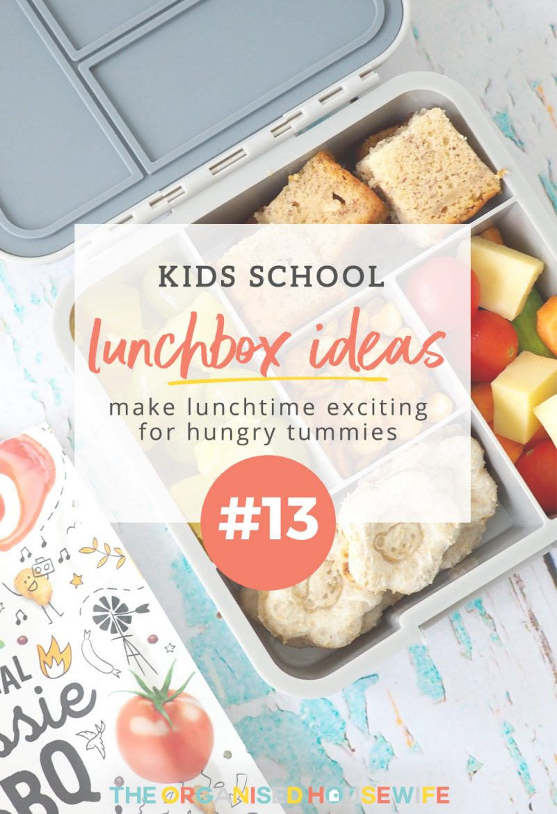 Have you fallen into the habit of packing the same things each day for your kids lunchbox? To help you mix it up here are some ideas.