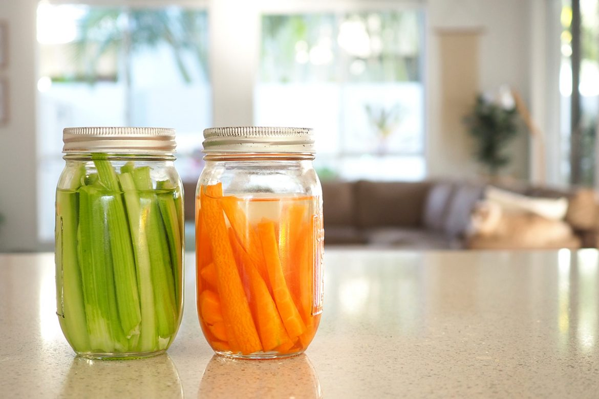 If you are like me and enjoy snacking through the day, you'll love my tips on storing veggie sticks so they stay fresh and crunchy all week long.