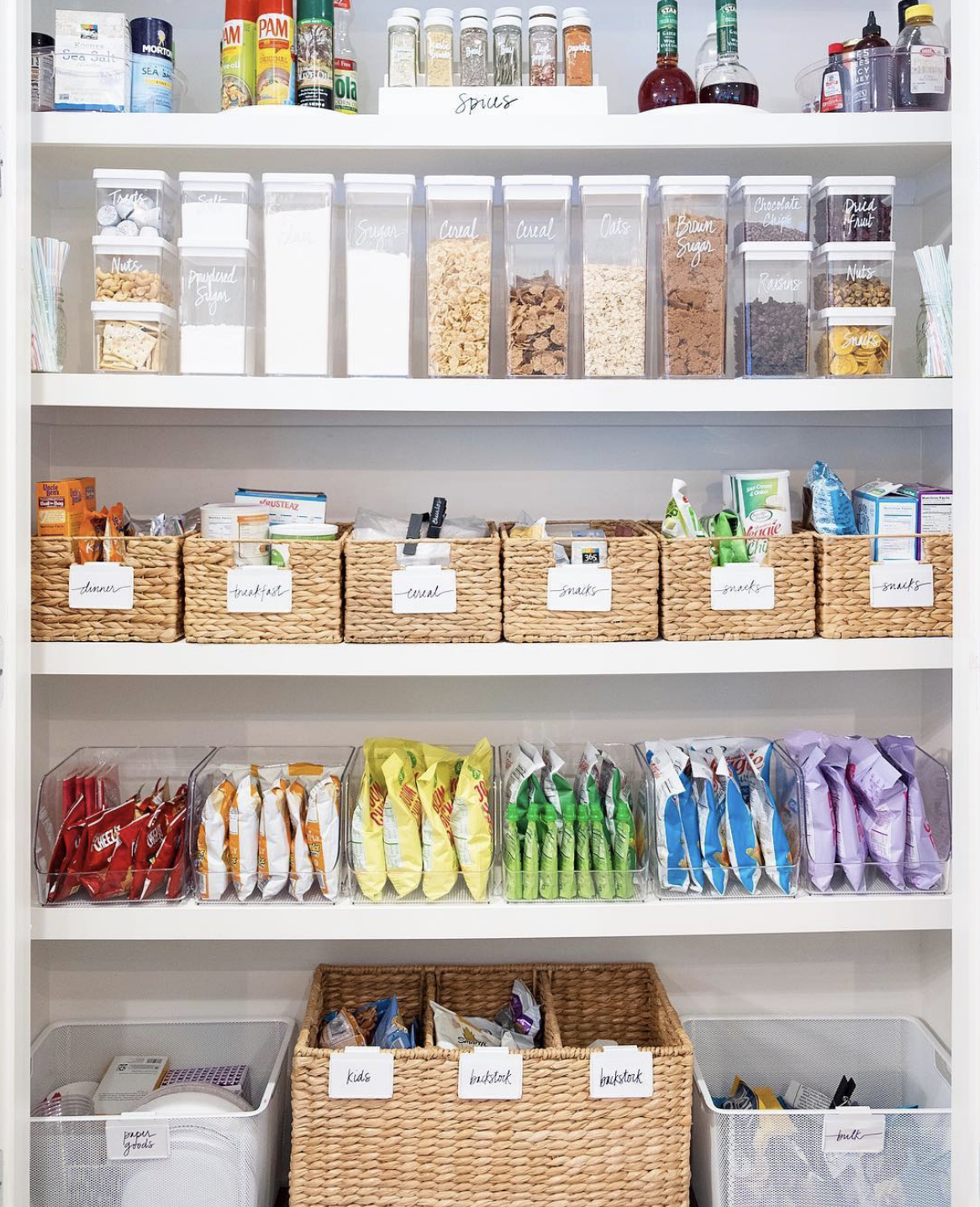 Organised Pantry Inspiration