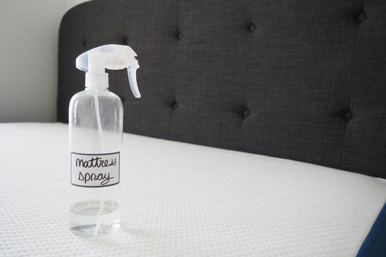 diy mattress spray cleaner