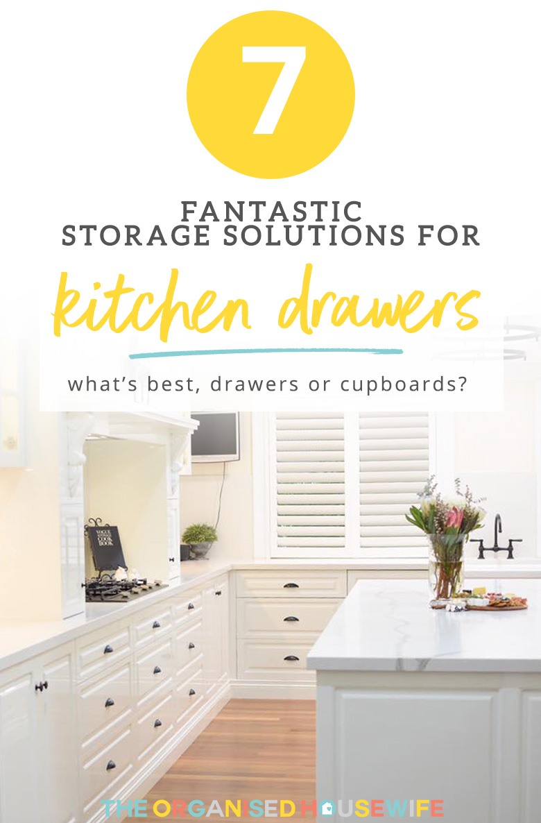 Kitchen storage ideas. Solutions for kitchen drawers and cupboards
