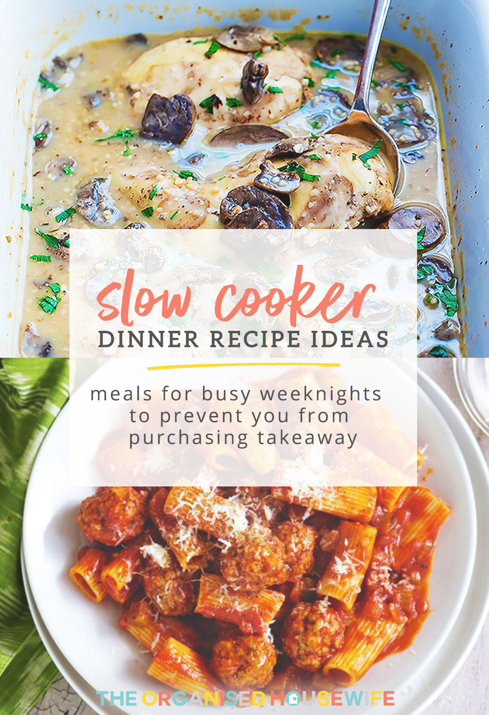 There's nothing like walking into a house filled with the delicious smell of dinner! I've put together a list of some of my favourite slow cooker recipes - I hope your family loves them as much as mine.