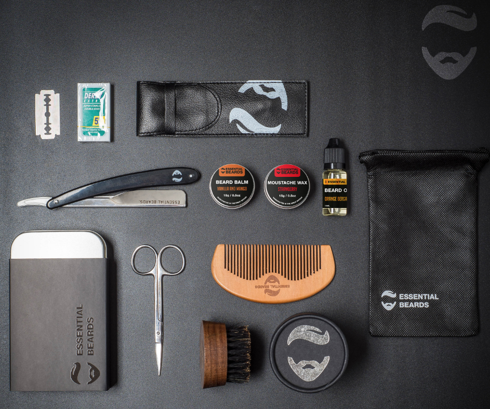 fathers day gift idea - beard grooming kit