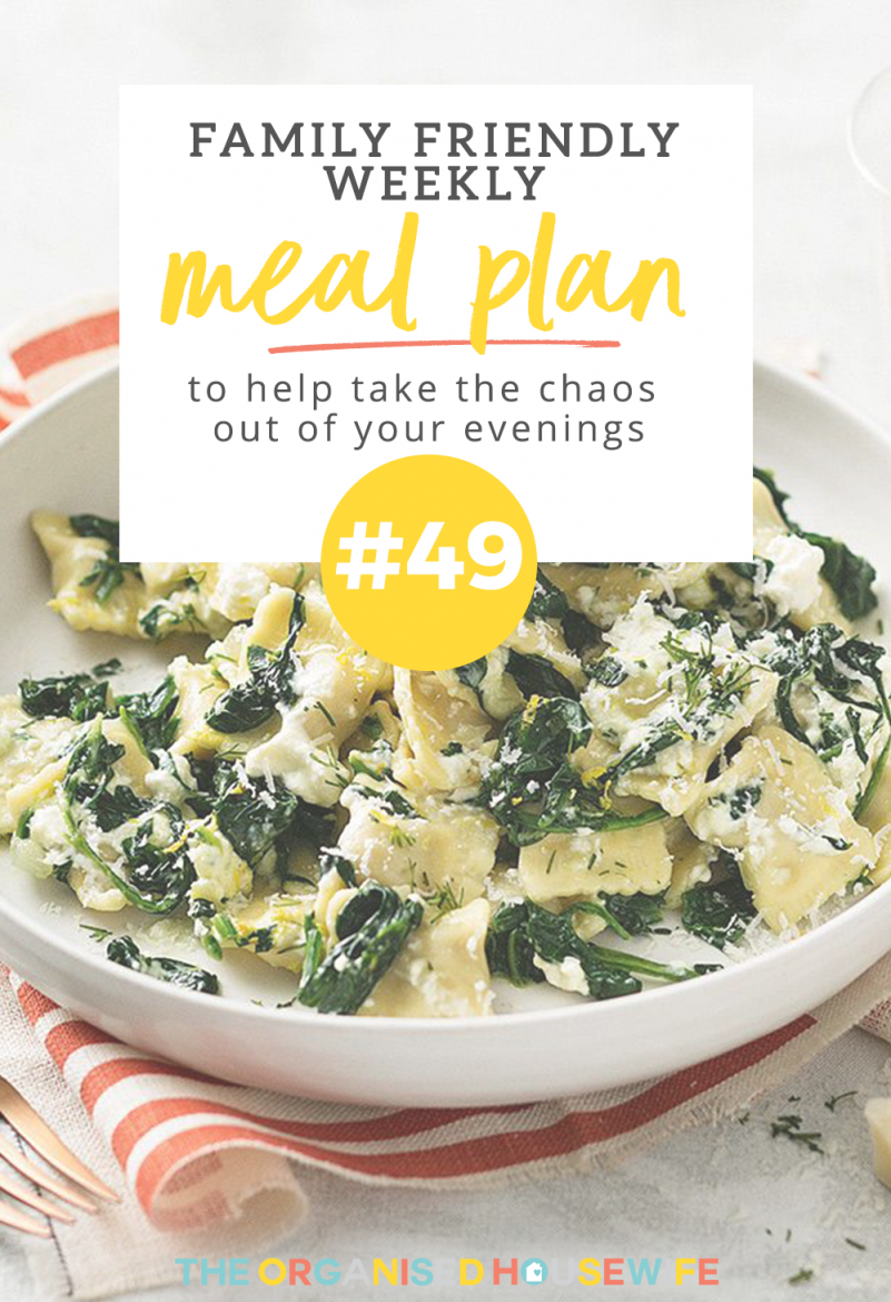 I love the variety of cuisines in this weeks family meal plan from reader Melissa, from Thai Chicken Pies to Morrocan Mince bake.